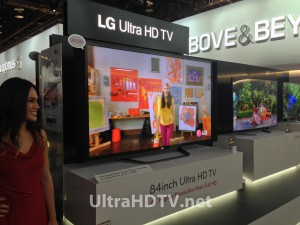 LG 4K 84-inch Ultra HD TV