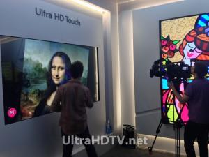 LG 4K touch screen Ultra HD TV