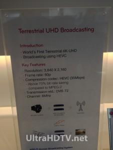 LG 4K Ultra HD TV Terrestrial Broadcast Demo