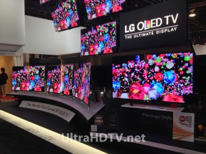 The World's First Curved OLED from LG
