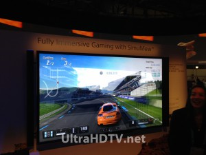 Sony 4K Gaming with SimulView
