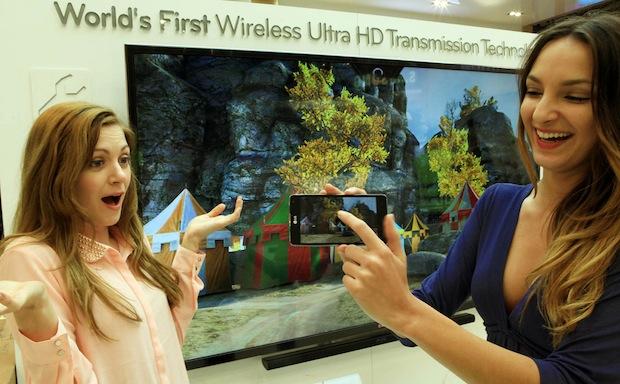 Wireless Ultra High Definition (Ultra HD) Transmission technology