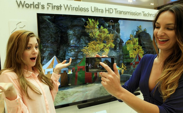 Wireless Ultra High Definition (Ultra HD) Transmission technology