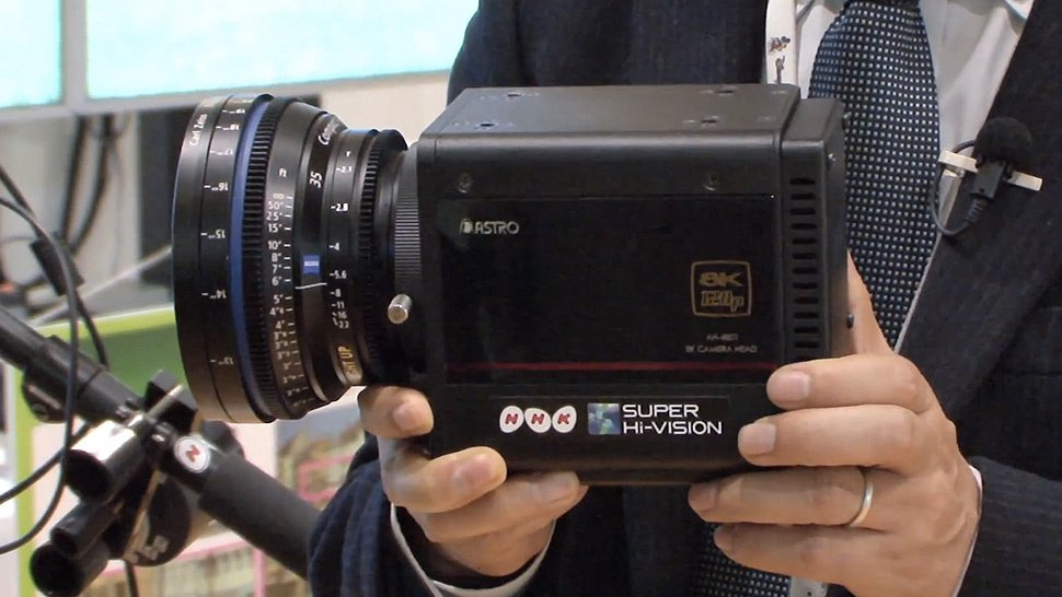 8K Ultra HD Camera