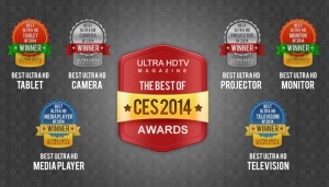 Ultra HDTV CES 2014 Awards