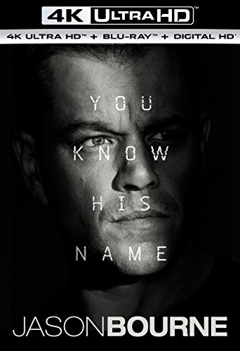 Jason Bourne (4K Ultra HD + Blu-ray + Digital HD)