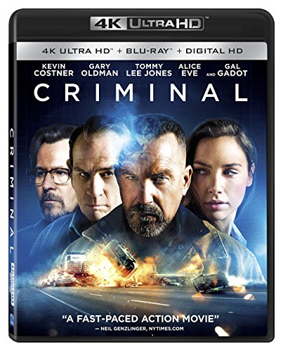 Criminal [4K Ultra HD + Blu-ray + Digital HD]