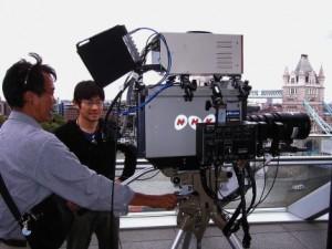 Ultra HDTV camera