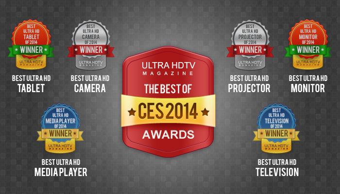 Ultra HDTV CES 2014 Awards