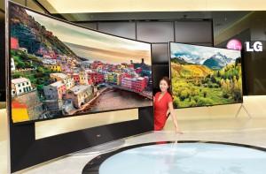 LG Ultra HD at CES 2014